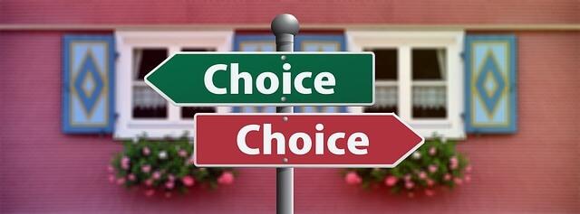 良いのを選ぶ