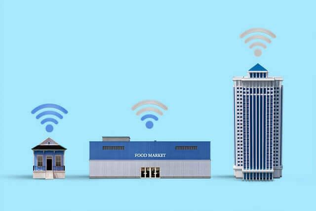 通信環境の違い