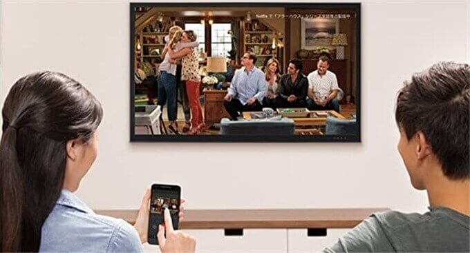 Chromecastで動画を視聴する